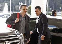 Finance Minister Euclid Tsakalotos travels to Paris and London on a charm offensive.