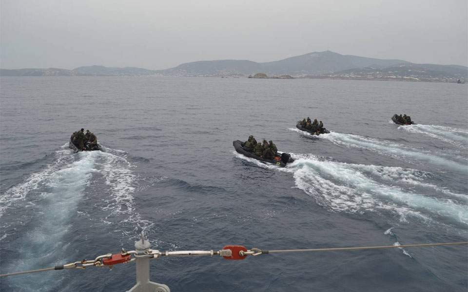 Greece: 58 migrants rescued off Greek island in Aegean Sea
