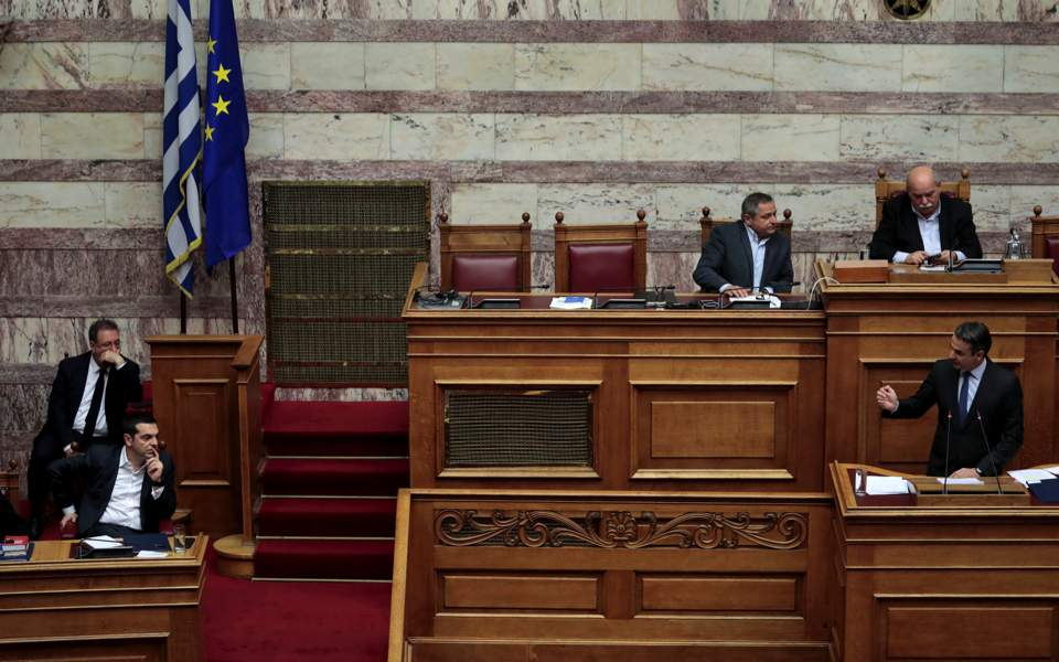 Greek lawmakers to vote on no confidence motion in govt
