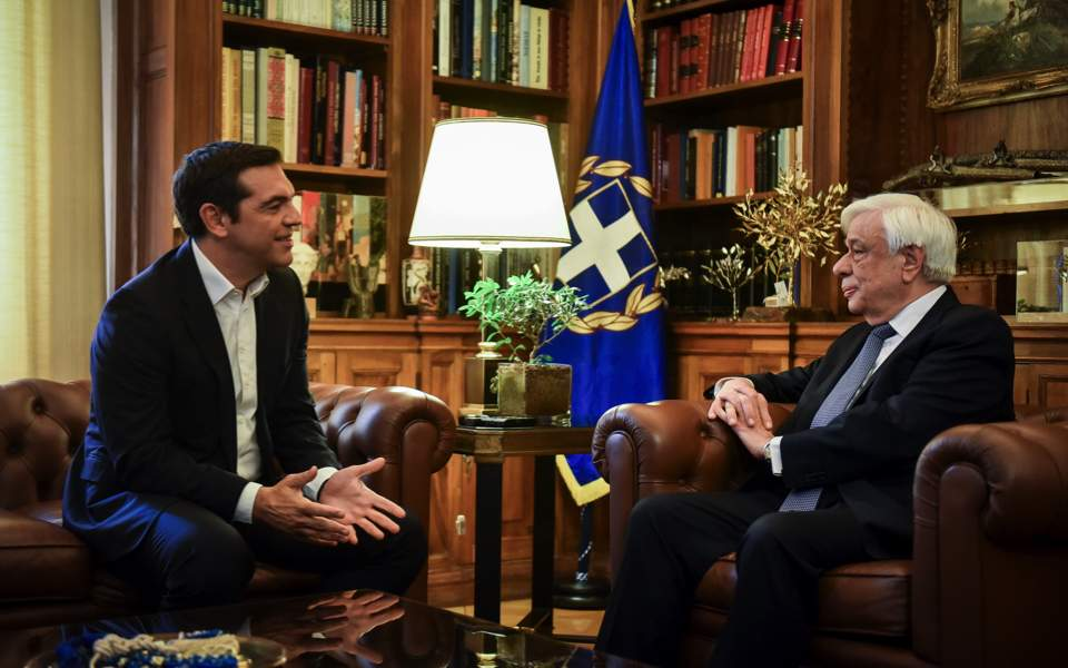 Greek PM says Macedonia's name change will be universal