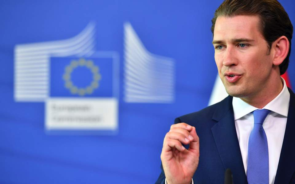 Kurz: EU must stop Turkey accession talks 'immediately' | News |  ekathimerini.com