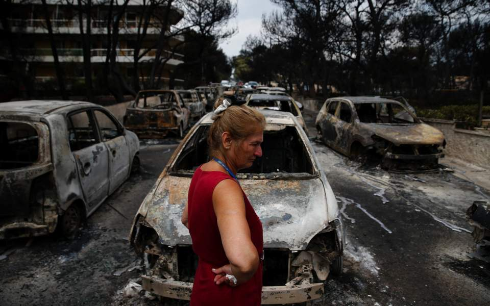 Death toll in Greek forest fires now at 49