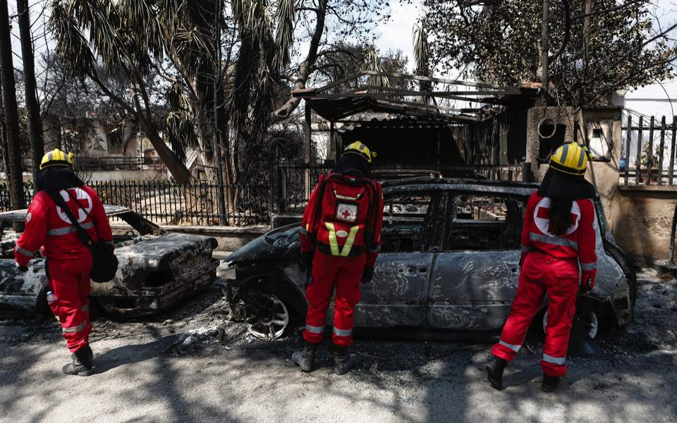 'Serious indications' wildfires were caused by arson in Greece