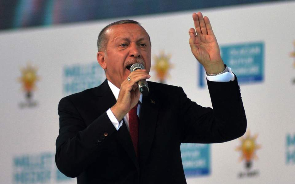 Turkey: President Erdogan challenges those playing