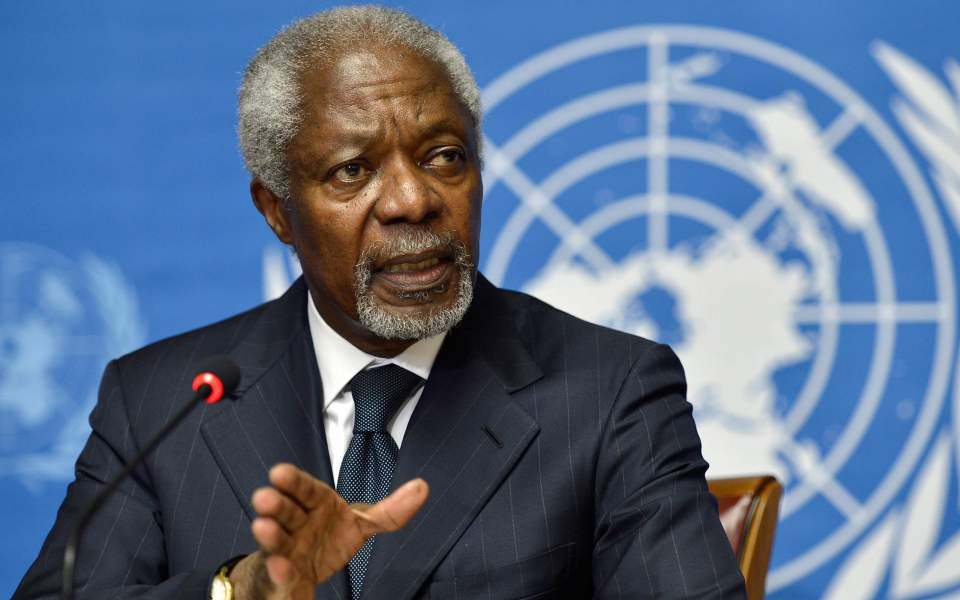 Former United Nations chief Kofi Annan dies aged 80