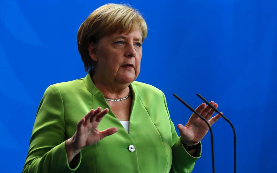 Turkey must ensure independence of central bank: Angela Merkel