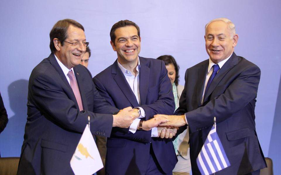 Greece-Israel-Cyprus summit brought forward, Vassilis Nedos