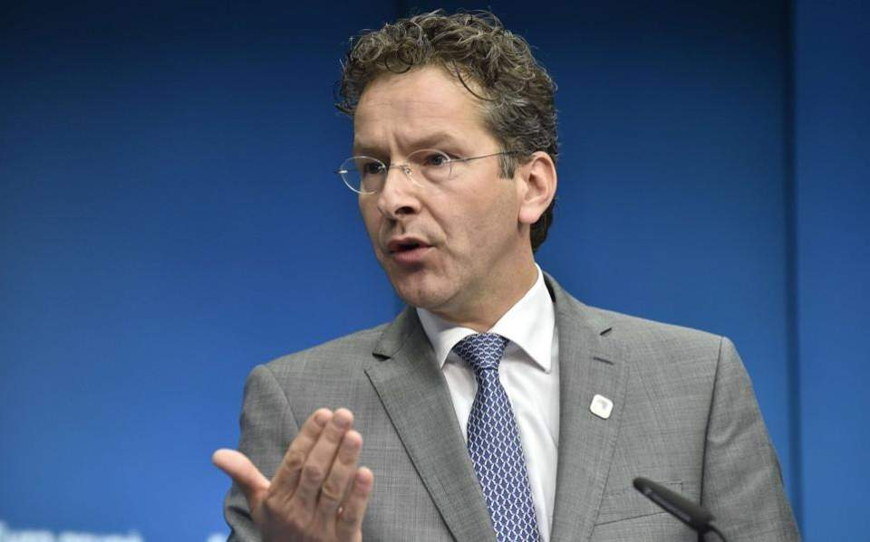 Former Eurogroup head Dijsselbloem says demands on Greeks were too heavy
