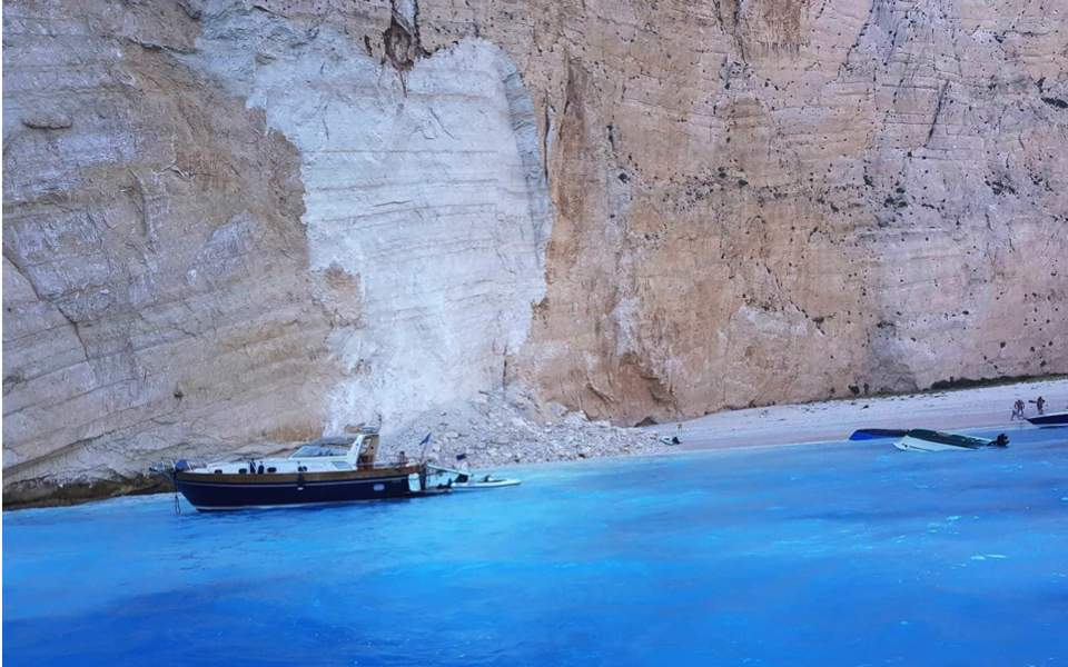 Navagio' on Zakynthos Named World's Top Beach for 2018 | GTP Headlines | 600x960