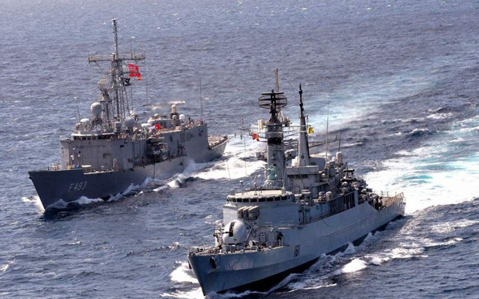 Extensive Turkish exercise viewed as show of force | Kathimerini