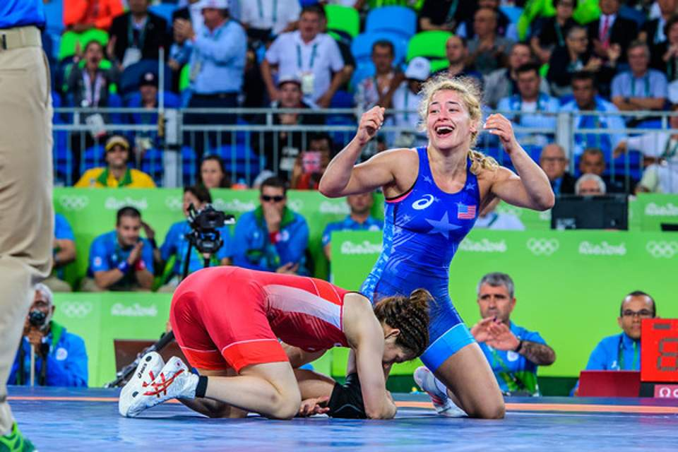 Helen Maroulis: America's first female Olympic wrestling champion