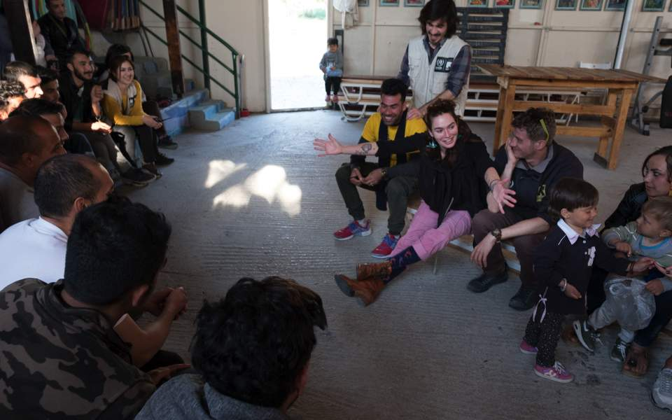 "Image result for ""Lena Headey"", , lesvos  ""MARCH 8, 2019"", -interalex"
