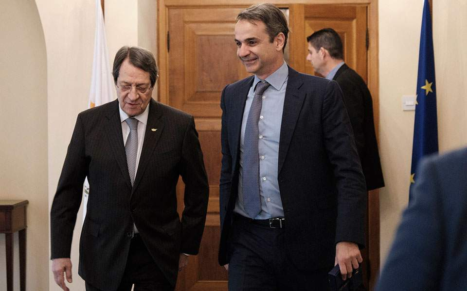 Mitsotakis lauds performance of Cypriot economy