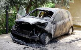 car-burned