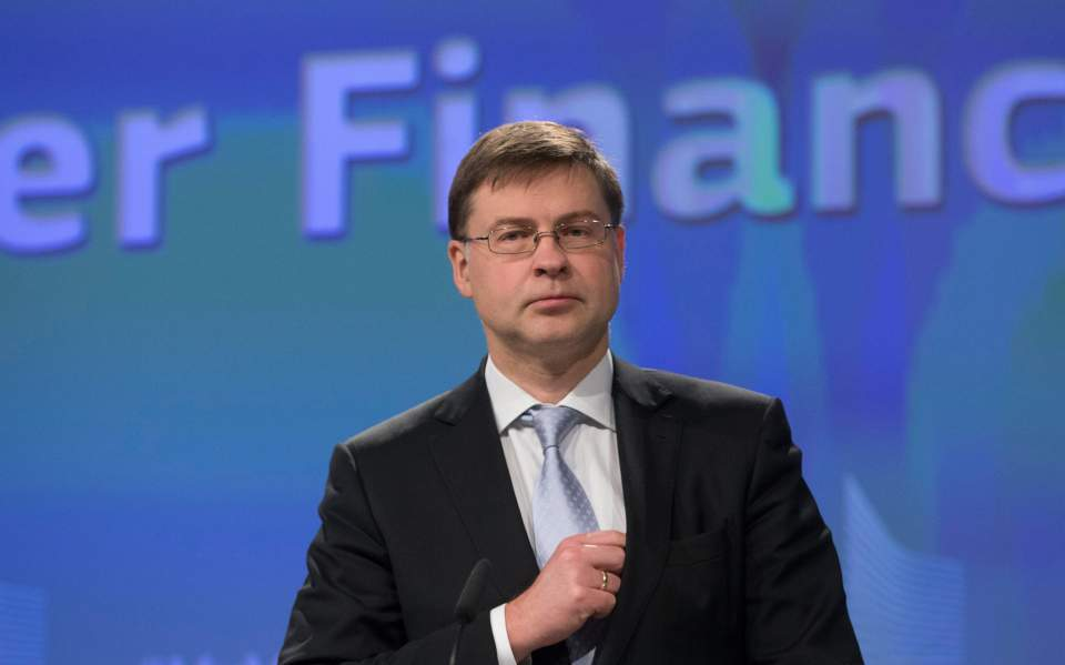 Dombrovskis : Greece must stick to agreed fiscal targets