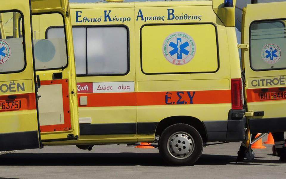 Girl, 9, in intensive care after being hit by KTEL bus near Serres