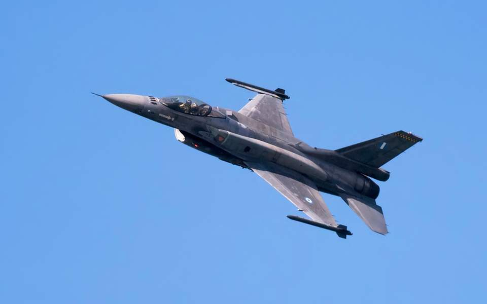 Greece flies first fighter jet over North Macedonia
