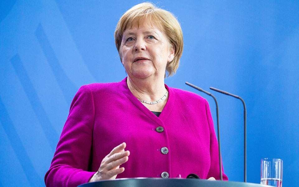 Greek austerity policy 'proven to be right,' says Merkel | Kathimerini