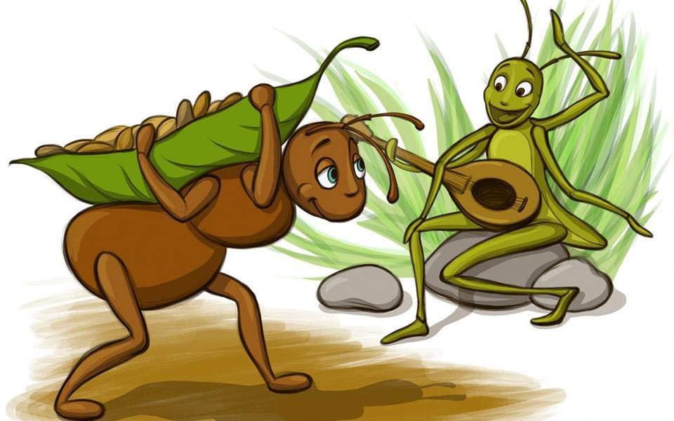 The Ant and the Grasshopper (a new version) | Comment | ekathimerini.com