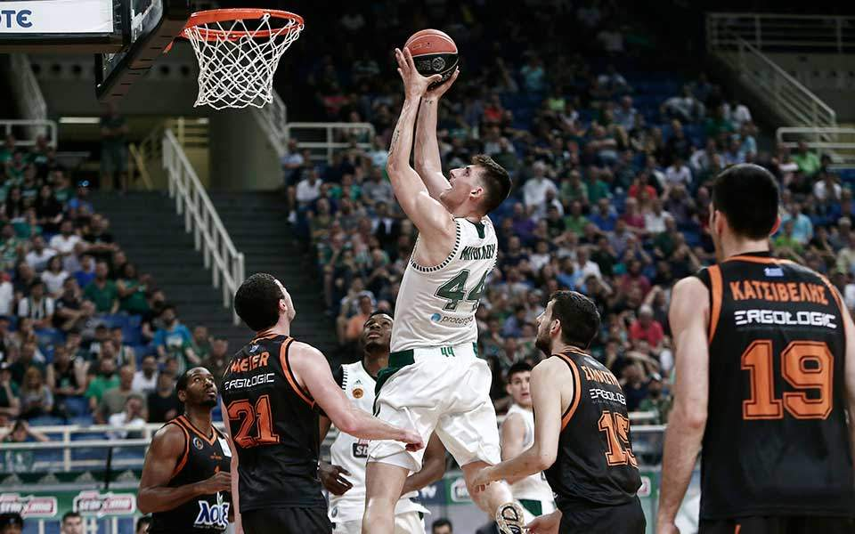 Greens thrash Promitheas in Game 1 of Greek finals