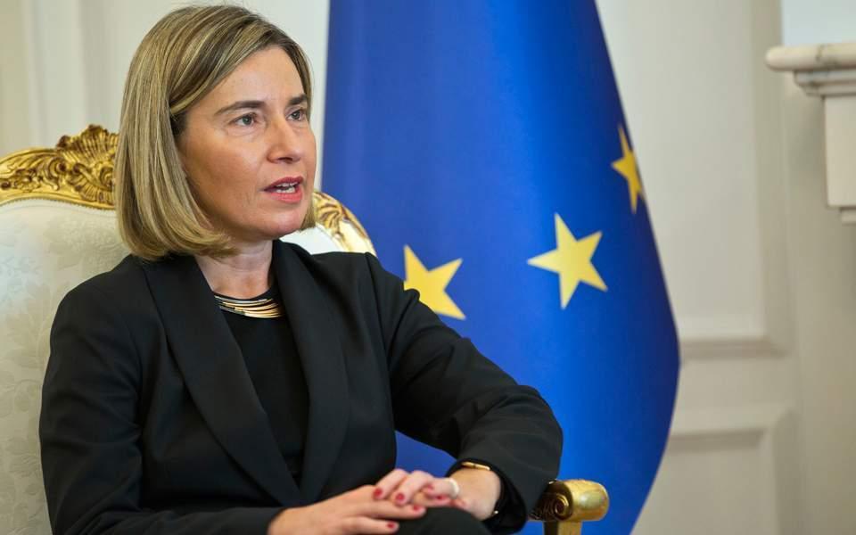 Mogherini urges EU to open accession talks with North Macedonia, Albania