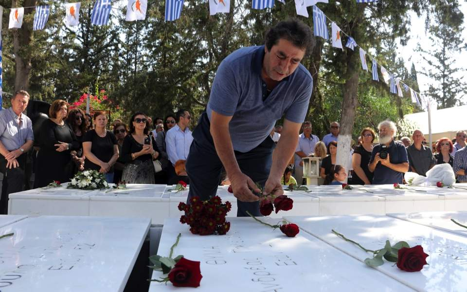 Cyprus marks anniversary of 1974 coup