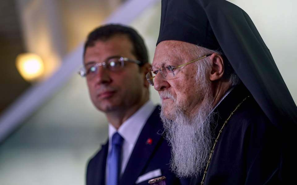 Istanbul mayor has 'good intentions,' patriarch says