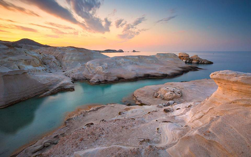 Greek Island Of Milos Voted Europe S Best By Travel