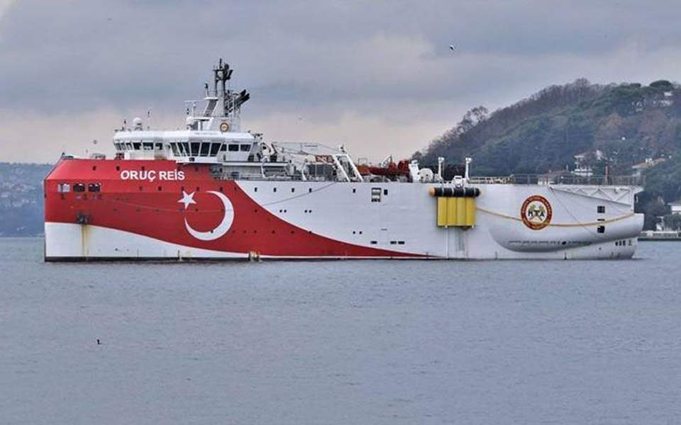 Turkey to send Oruc Reis research vessel to Med in August, minister says