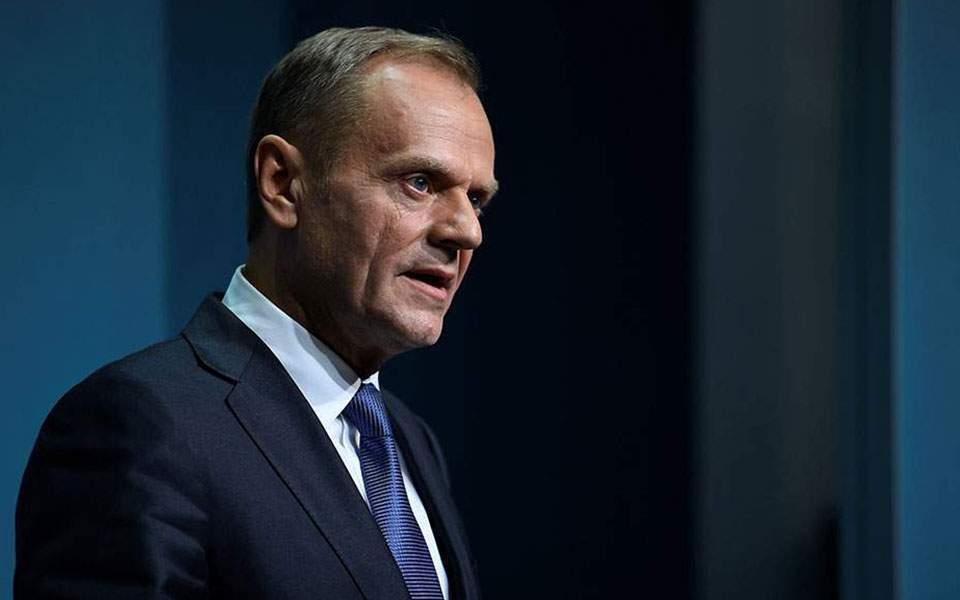 Tusk warns Turkey of EU sanctions over Cyprus drilling