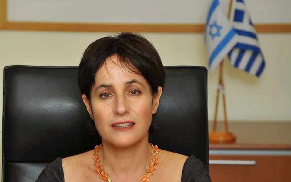 israel-ampassador-in-greece-irit-ben-abba