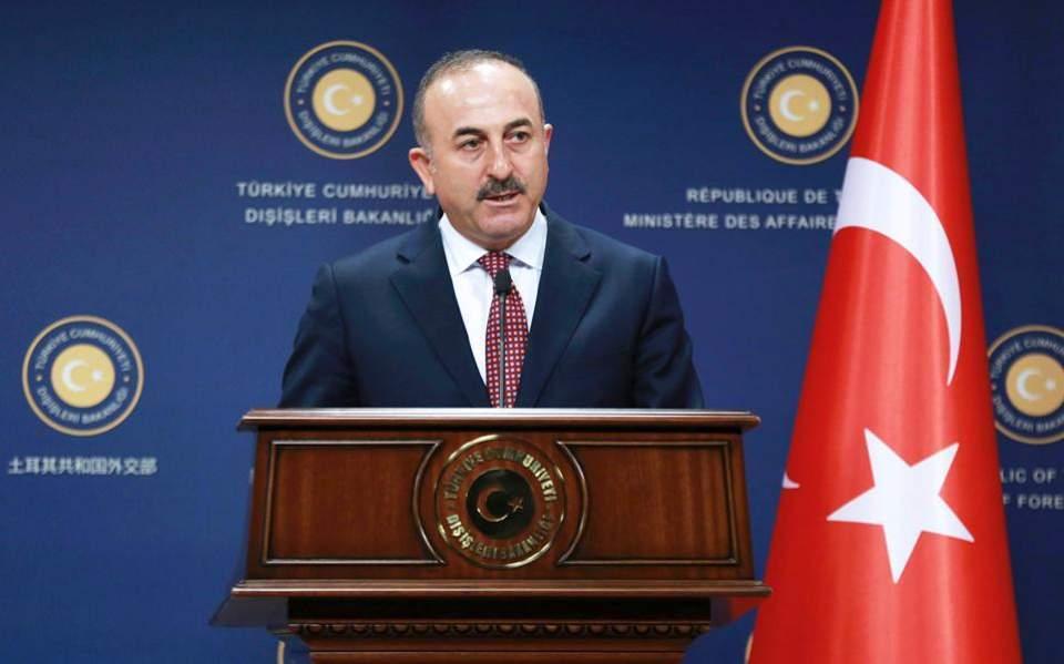 Cavusoglu says Athens, Ankara must tone it down