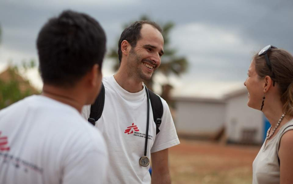 Greek surgeon elected president of Doctors Without Borders