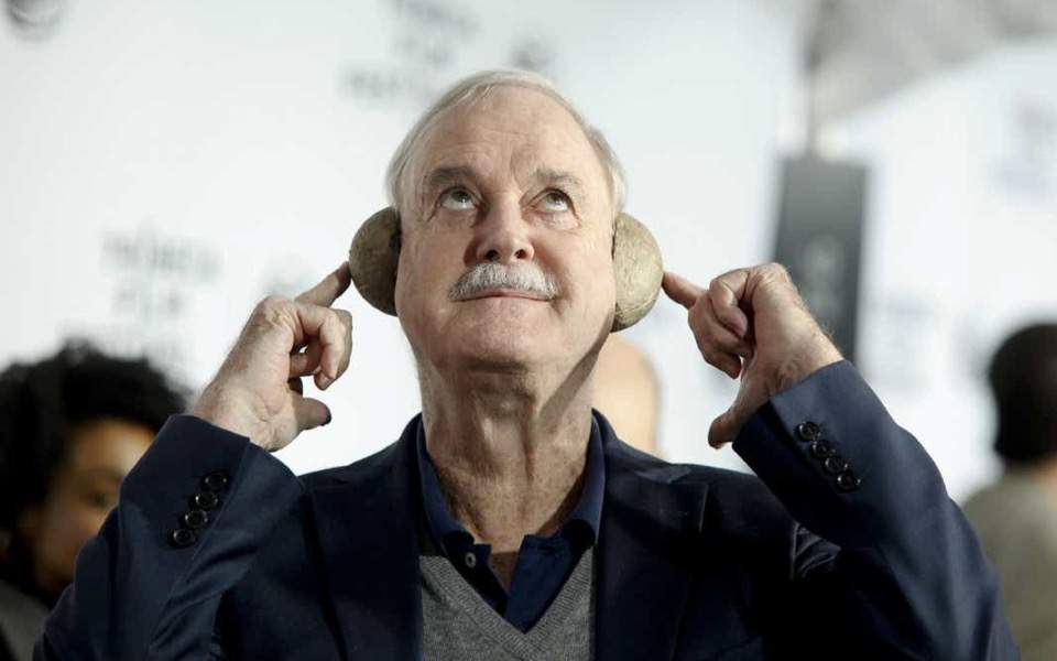 For Monty Python star John Cleese, 'life is a comedy'