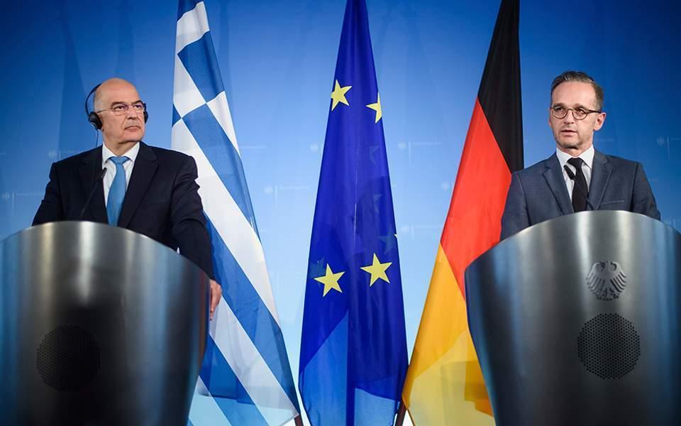 Maas praises Greece on reforms, migration