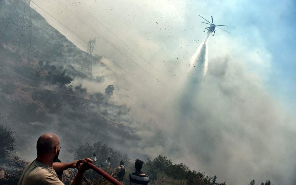 Dry and windy conditions fuel wildfires