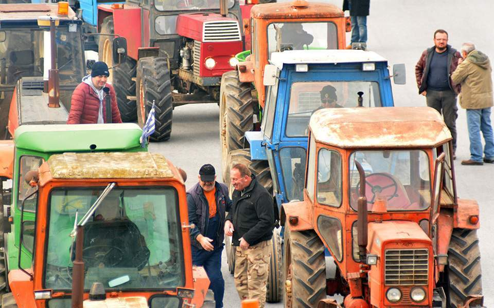 Tractors to roll out in Larissa as farmers protest