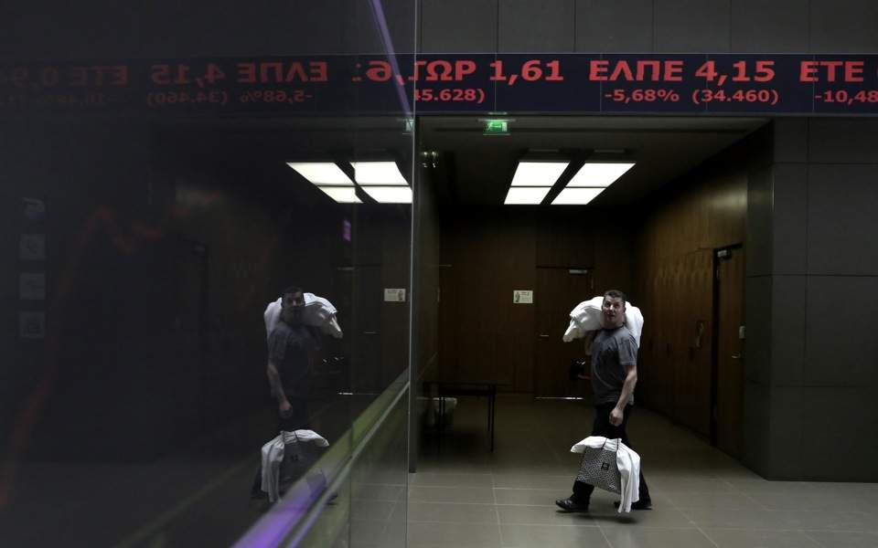 ATHEX: Stocks ease as traders choose to sell after TIF