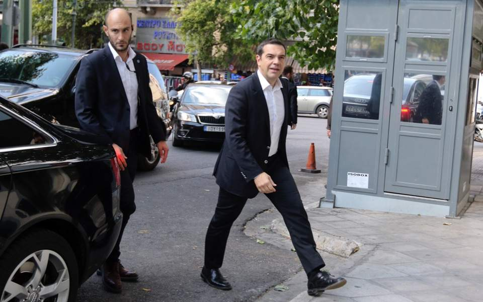 Alexis Tsipras and his opposition strategy