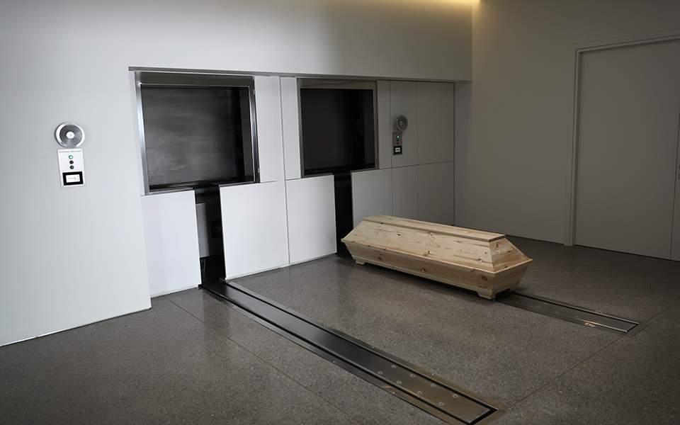 Greece's first crematorium opens on island of Evia