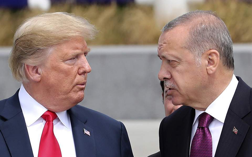 Athens concerned at Trump's Syria move