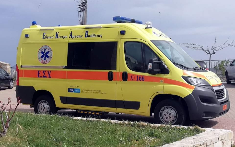 Five-year-old in ICU after crash on Crete