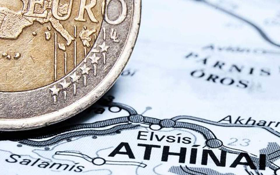Greece sells 3-month T-bills at negative yield