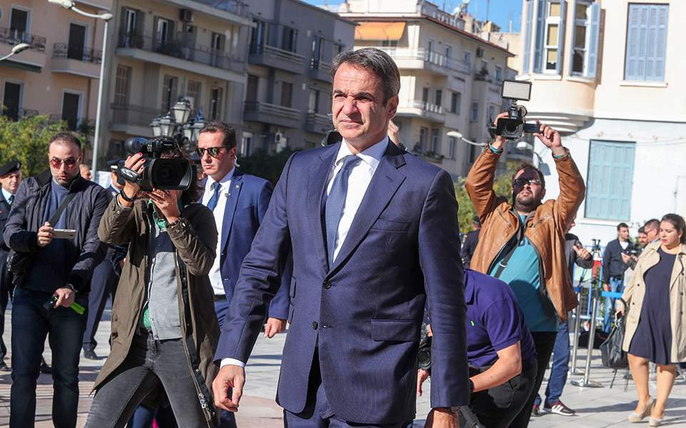 Greece on path to national recovery, PM Mitsotakis says