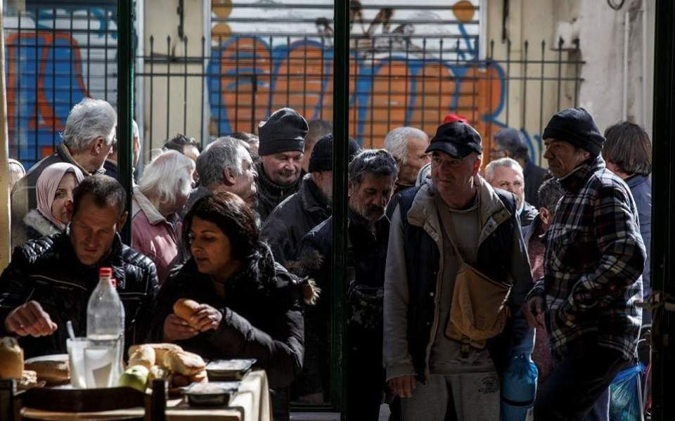 One in three Greeks at risk of poverty in 2018