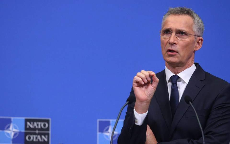 NATO expects members to respect international law, Stoltenberg tells Kathimerini