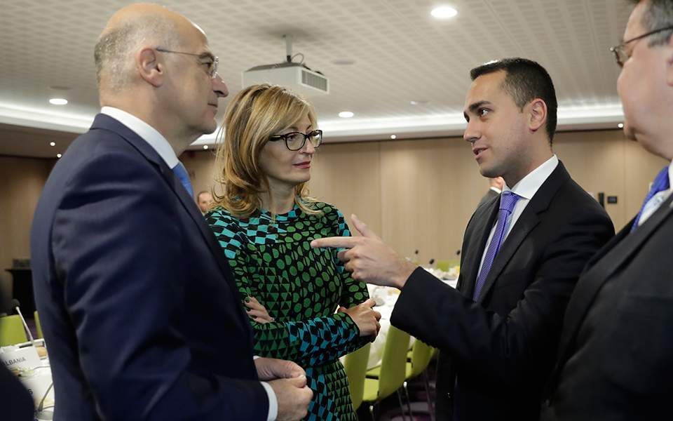 EU ministers agree to maintain prospects of western Balkan countries