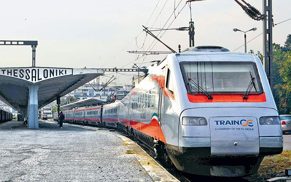 Trainose adds two trains to Athens-Thessaloniki service over Christmas