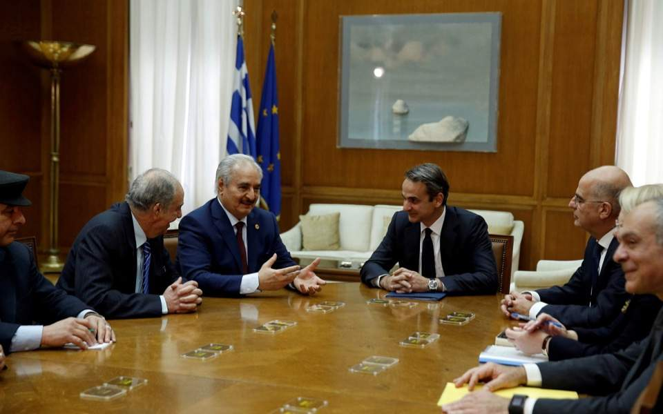 Flurry of Greek diplomacy before summit on Libya