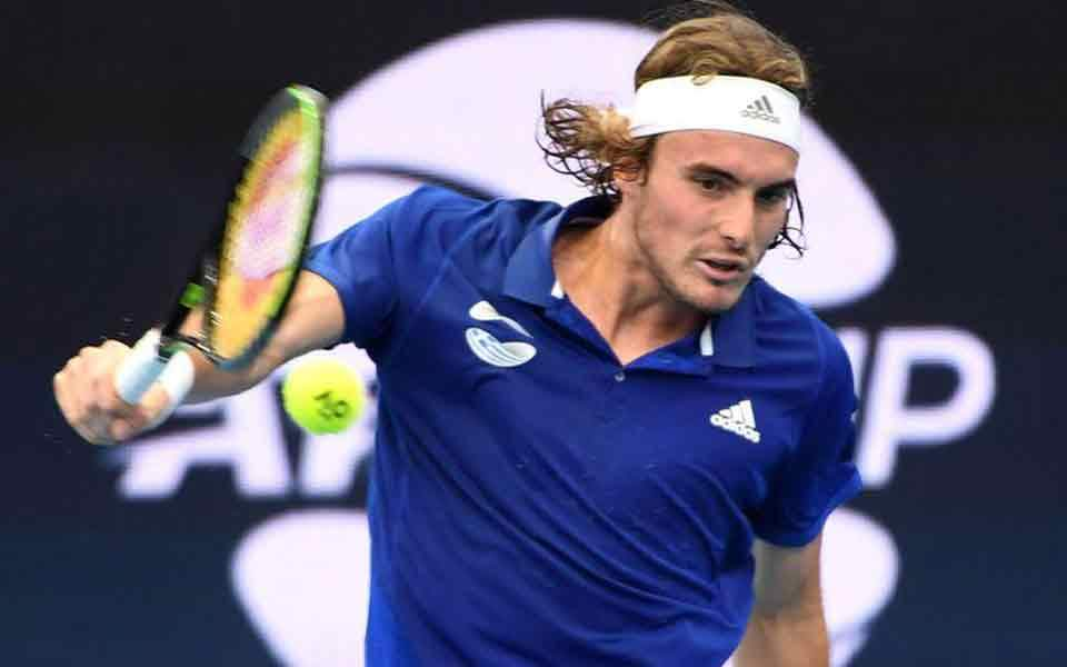 Tsitsipas records first win of the year, over Zverev ...